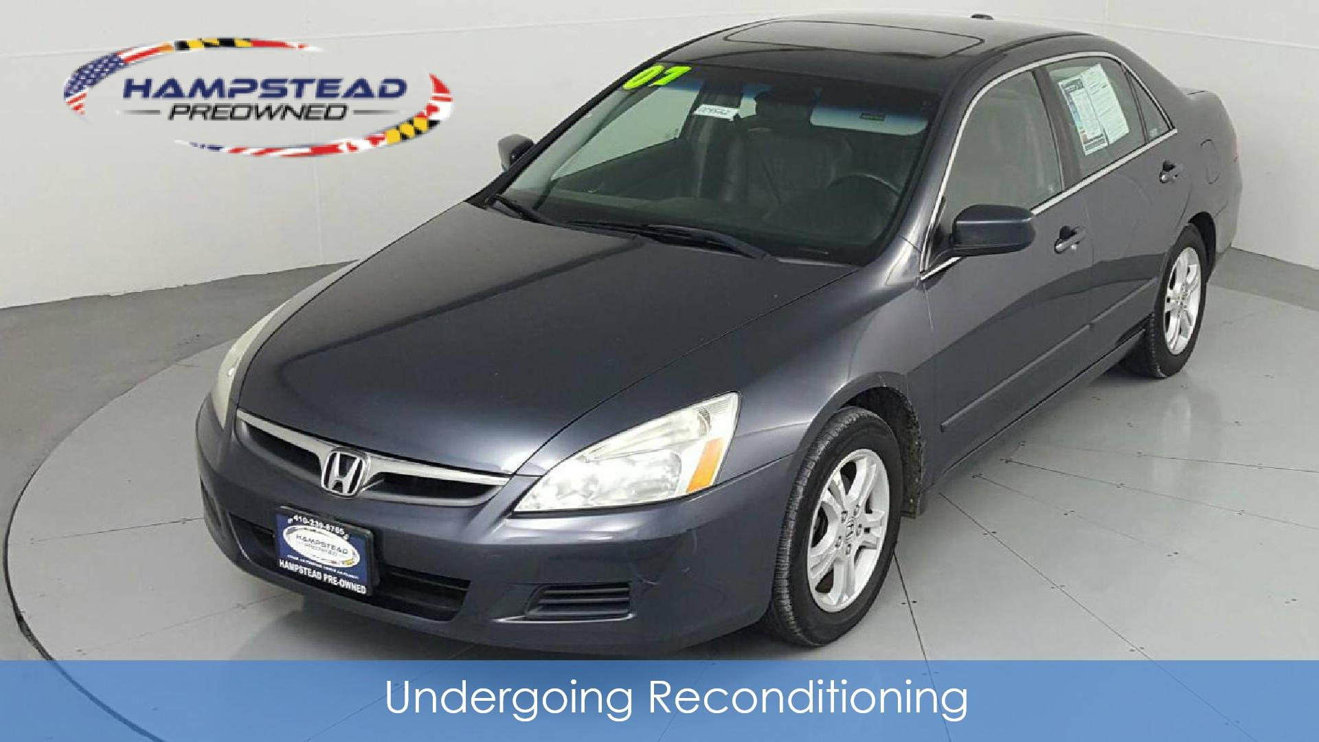2007 Honda Accord Ex L >> 2007 Honda Accord Ex L