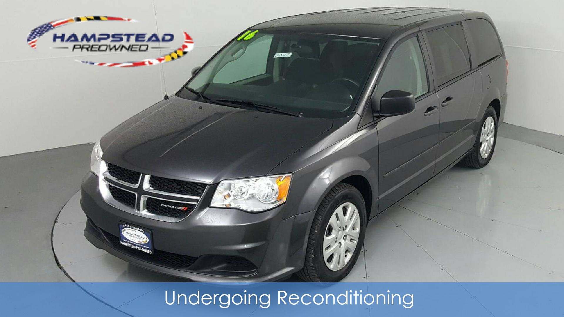 Pre-Owned 2016 DODGE GRAND CARAVAN SE