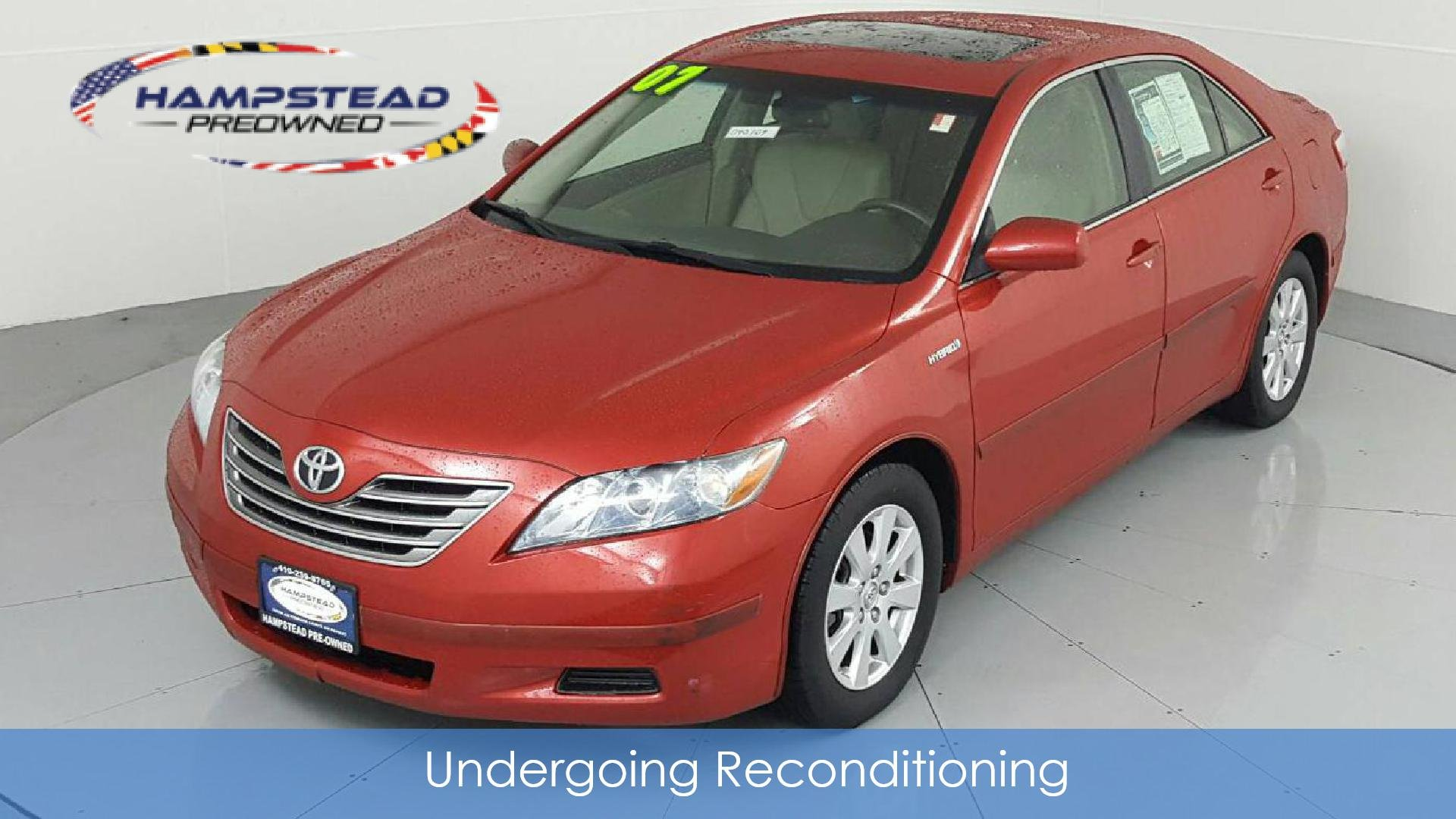 Pre-Owned 2007 TOYOTA Camry Base